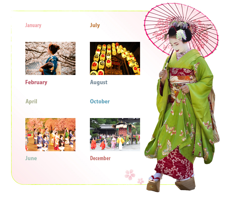 Anual Events of Maiko Kyoto