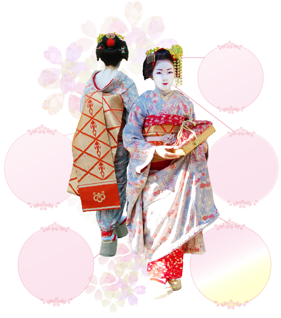 Personal appearance of Maiko