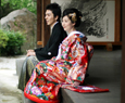 Kimono Marriage Japanese clothes