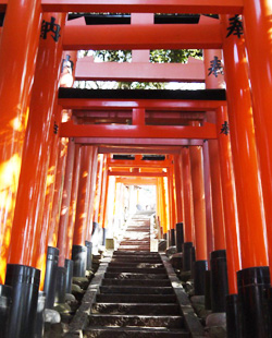 fushimiinari shrine kyoto japan